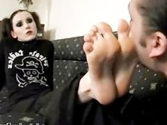 A Short Dick Paki Boy is only good for licking a Western Womans hot Feet