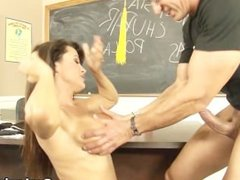 MILF Lisa Ann learning spanish with her teacher's dick