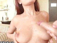 Big assed brunette slut fucked hard part6
