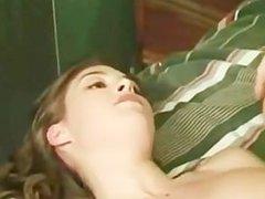 Casting brunette teen