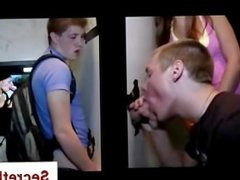 Cute straight twink tricked into good blowjob by a gay guy