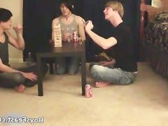 Super hot gay teens having a game party part5