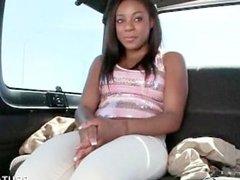 Teen ebony talked into sex for money
