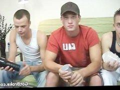 Horny and horny heterosexual men having part6