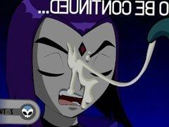 Teen Titans Hentai [Raven part 1]