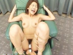 Japanese Bondage Slut Gets a Cum Bath part4