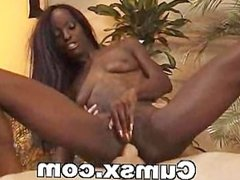 Ebony Anal With Mature Cock And Cumshot