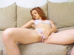 Teen Jenni takes her first anal