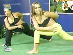 Eduman-Private.com -Sandra Marente aym Sport Pants Verdes