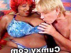 Huge Ebony Tit Fucked And Hardcore Sex