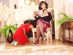 Mean Lesbian Woman Anal Fucking Her Maid By twistedworlds
