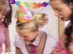 There's nothing like CFNM sex at teen birthday party