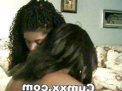 Lesbian Ebony Pussy Licking