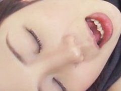 avmost.com -Fucked hard Japanese chick cock sucking and creamed in her lips