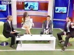 Eduman-Private.com - Jimena Sanchez Sensual Vestido Estampado Felino