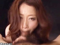 Extremely horny japanese MILFS sucking part5