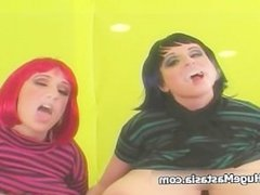 Two girls with massive tits love to lick part4