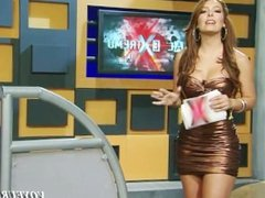 Eduman-Private.com - Veronica Pliego Tetas Apretadisimas Vestido Cobrizo