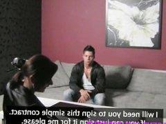 FemaleAgent HD Premature problem in his first porn film casting performance