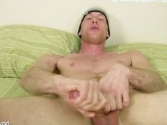 Guy Jack Brave fingers his ass