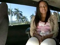 Ebony Ass Gets Fucked Hard On The BangBus