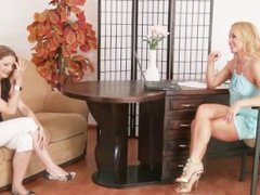 Lesbian Casting Call and Strip Down with Silvia Saint