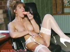 In An Office Scene British Stockings Toys