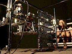 Futuristic Vision Of Restraint! Valentina Nappi with fucking machine
