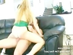 amateur couple on the couch