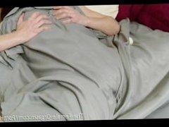 Sopping Wet and Hairy Olivia Adams Self Films Masturbating to Orgasm