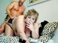 Smoking BBW Gets fucked Doggy Style