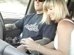 Hand Job in The Car While Driving
