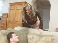 Sexy Brunette Gets Rough DP