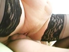 Young Chick Mixes With Old Cock and Pussy