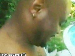 Experienced Afo Black Slut Oral On Poolside