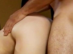 Naughty bisexual porn hard sex with busty babe sucking