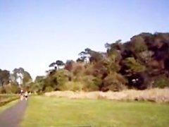 Brasileira trepando no Parque Tingui