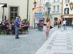 Nasty Czech Girls Naked On Public Streets