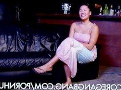 Asian Stripper Caught in a Gangbang