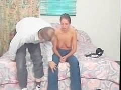 He couldn't resist asking for a blowjob