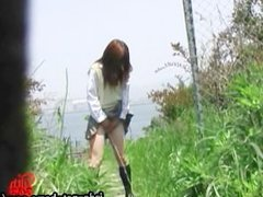 jade-net-us DLF40-01-2 Outdoor Excretion Series Girls Peeing While Standing
