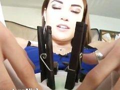 EvilAngel Sasha Grey Stretch Class Solo Orgasms