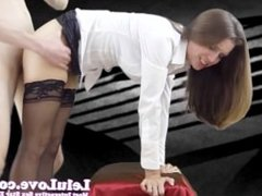 Lelu Love-Stockings Heels Standing Doggystyle
