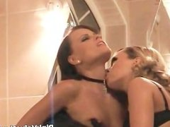 Two amazing babes in sexy lingerie part5