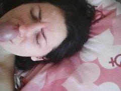 Russian amateur girl Ksyusha fucks. part 1