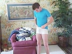 Tricked Underwear Model