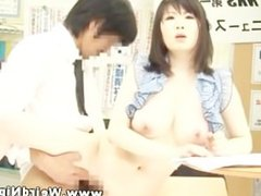 Asian babe gets her pussy plowed and cant get enough
