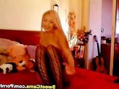 Pretty Blonde Chick Solo Playtime HD