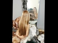 Pictures of naked girls in fur coat!