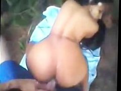 Indian girl fucks in the forest this indian g